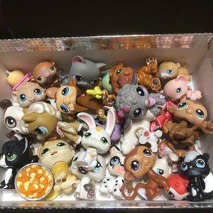 Littlest Pet Shop LPS Lot of 30